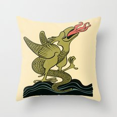 BASILISCUS Throw Pillow