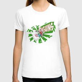 Christmass Spidy. T-shirt