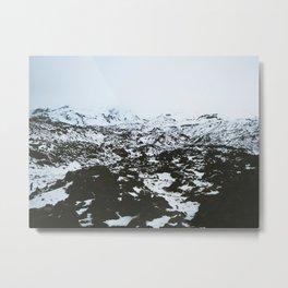 Mt Ruapehu Metal Print