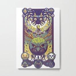 Majora´s Mask Metal Print