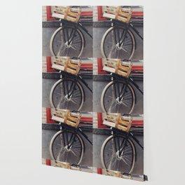 Bicycle, Wood Crate Wallpaper