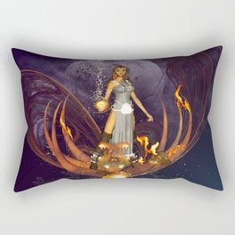Beautiful fairy  Rectangular Pillow