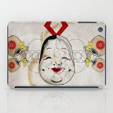 J_mask iPad Case