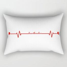 Heartbreaker Rectangular Pillow