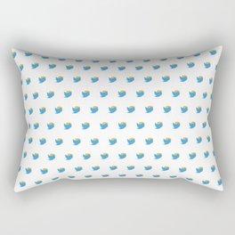 Twump Pattern - Day Mode Rectangular Pillow