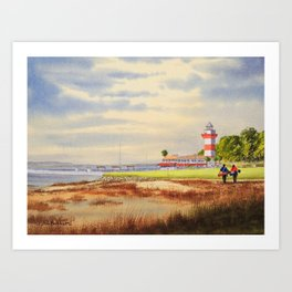 Harbour Town Golf Course SC Art Print