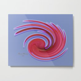 The whirl of life, W1.2C Metal Print