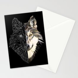 Mixed Wolf Stationery Cards