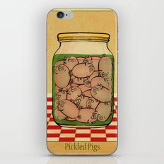 Pickled Pig Revisited iPhone Skin