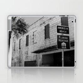 American Beach Sign Laptop & iPad Skin