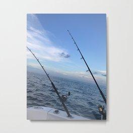 Summertime Seas Metal Print