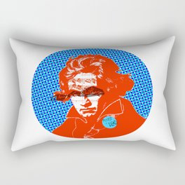Ludwig van Beethoven 11 · Punks not dead Rectangular Pillow