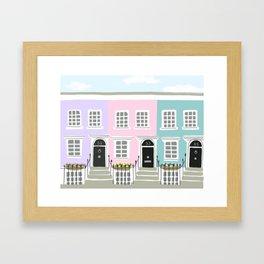 Notting Hill No. 2 Framed Art Print