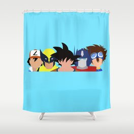 Childhood in a Nutshell Grouped #1 Shower Curtain