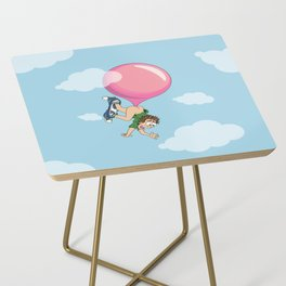 Don't Swallow Your Bubble Gum Side Table