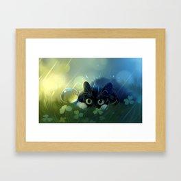 Stealth action Framed Art Print