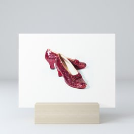 Ruby Slippers Movie Prop Red Sequins Mini Art Print