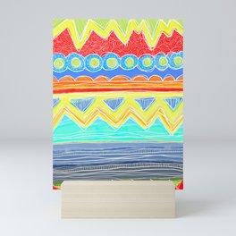 Sunrise Geometrics Mini Art Print