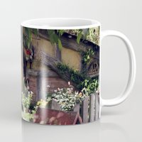 hobbit Mugs featuring The Hobbit by Cynthia del Rio