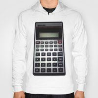 math Hoodies featuring Fuck Math by Wis Marvin