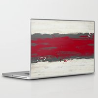 racing Laptop & iPad Skins featuring Racing Stripe by Eye Opening Design