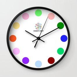 Robert Hirst Spot Clock 10 Wall Clock