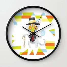 Baron Catmedi Wall Clock