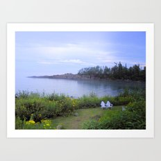 A Peaceful Evening Art Print