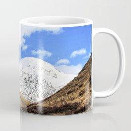Spring in Glen Etive, Scottish highlands Coffee Mug