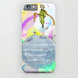 Little Prince World iPhone Case