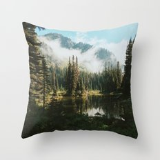 Quiet Washington Morning Throw Pillow