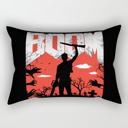 This... is my BOOMSTICK! Evil dead mash up Rectangular Pillow