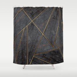 Nordic Yakisugi Shower Curtain