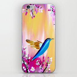 Pink Cherry Blossom iPhone Skin