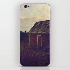 Nova Scotia Barn iPhone & iPod Skin