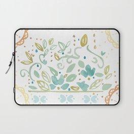 Boho floral Laptop Sleeve