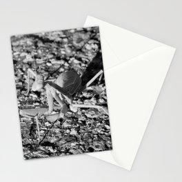 Monochrome Praying Mantis Stationery Cards