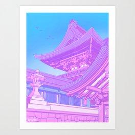 Kyoto Pop Art Print