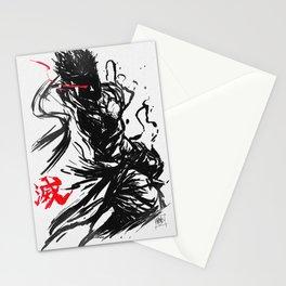Evil Ryu Stationery Cards