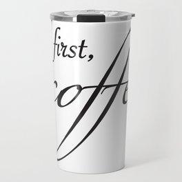 coffee type Travel Mug