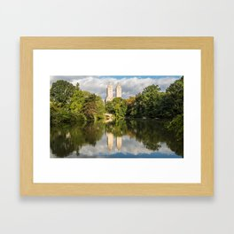 San Remo Reflections - Central Park, NYC Framed Art Print