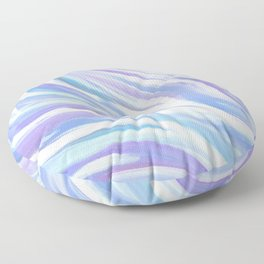 Swirly, Intuitive Abstract Art made with Acrylic Paint. Dream art. Flow Floor Pillow