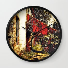 Under the stairwell - Florest Navarro de Andrade Wall Clock