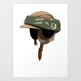 Rebel with a cause Art Print