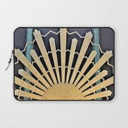 Art Deco Sunburst Laptop Sleeve