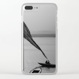 By the Ganges Clear iPhone Case