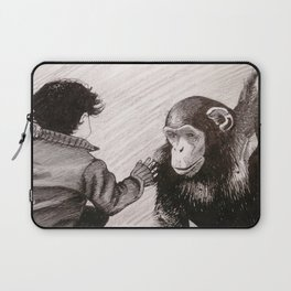 Child and Ape Laptop Sleeve