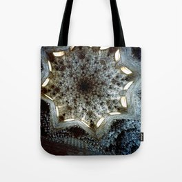 Looking Up Hall of the Abencerrajes, Alhambra Tote Bag