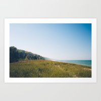 michigan Art Prints featuring Michigan by April Wilcocks