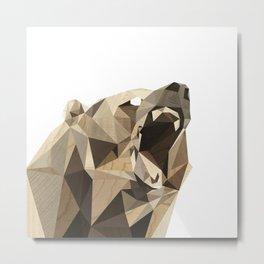 roaring bear Metal Print